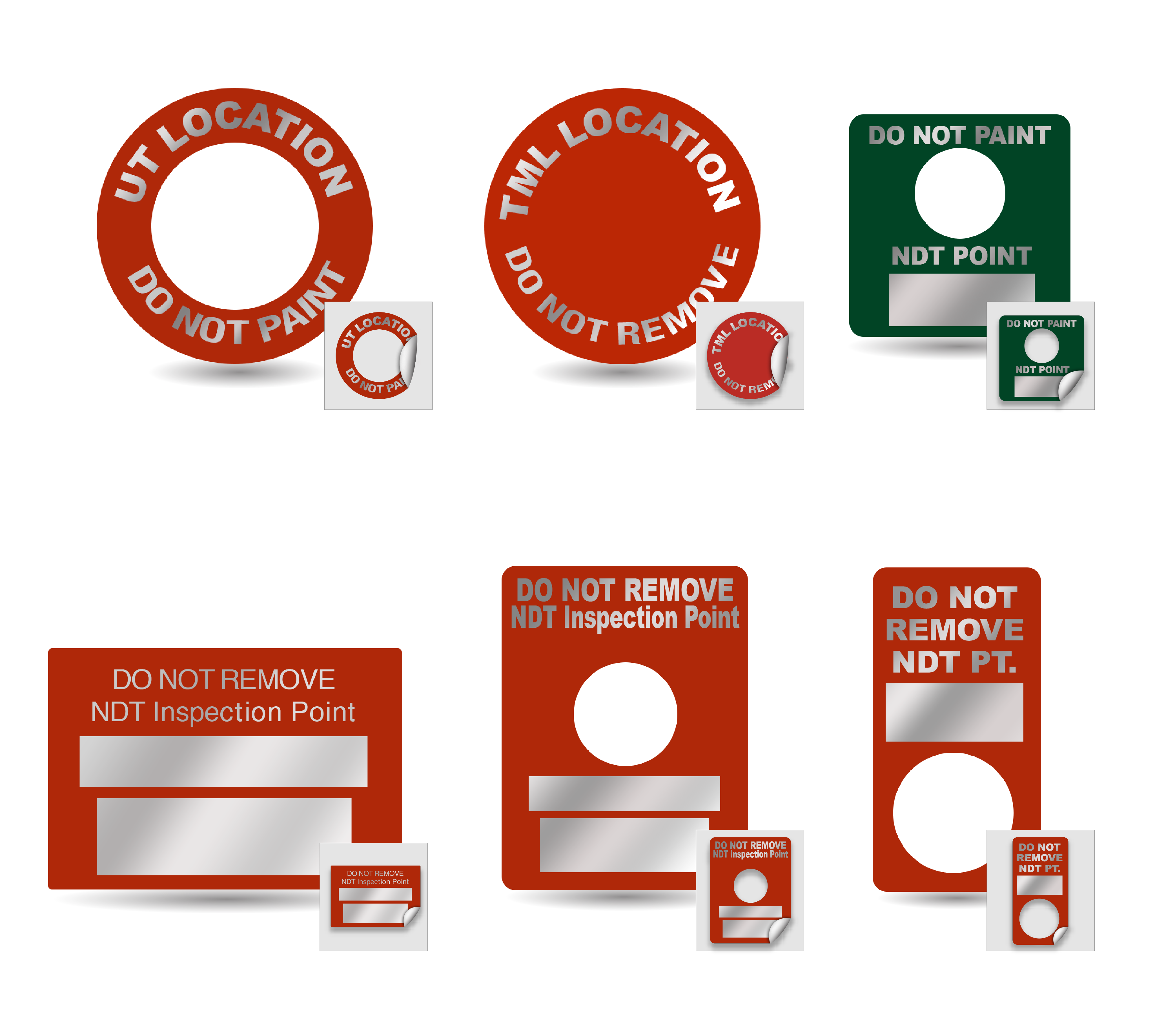 Inspection Point Labels